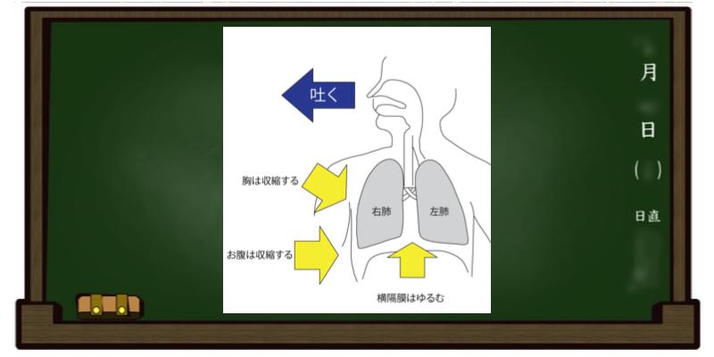 呼吸法 自然呼吸 息を吐く